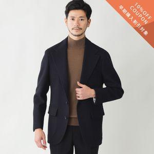 【予約販売】【数量限定】「COLLECTION LINE」リバーウールカシミヤジャケット