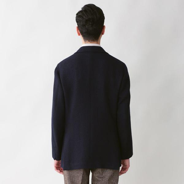 【数量限定】「COLLECTION LINE」シェットランドウールジャージジャケット 21FW