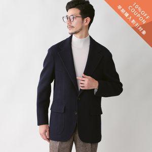 【予約販売】【数量限定】「COLLECTION LINE」シェットランドウールジャージジャケット