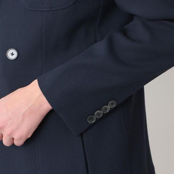 [ 40%OFF ] 【数量限定】「COLLECTION LINE」VBCストレッチウールピケダブルジャケット