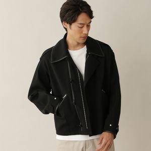 [ 30%OFF ] 【数量限定】ミリタリ-レザーパイピングフライトジャケット