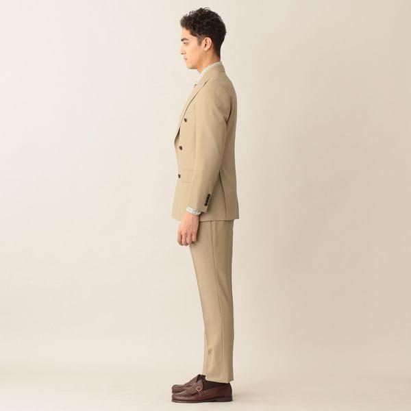 [ 53%OFF ] 【数量限定】【NEW MODEL/BAKER MODEL】「COLLECTION LINE」ウールトロピカルダブルスーツ/セットアップ