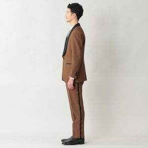 【数量限定】【FORMAL】「COLLECTION LINE」ウールモヘヤショールカラードタキシードスーツ/セットアップ (フォーマル対応)