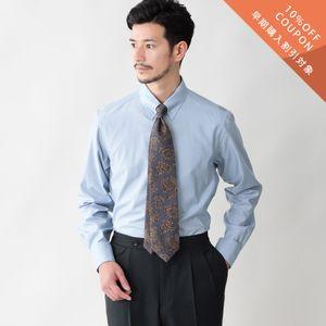 【予約販売】【数量限定】「COLLECTION LINE」コットンブロードドレスシャツ/タブカラー