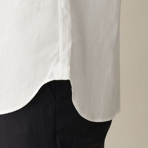 【数量限定】コットンブロードドレスシャツ/ロングポイントレギュラーカラー