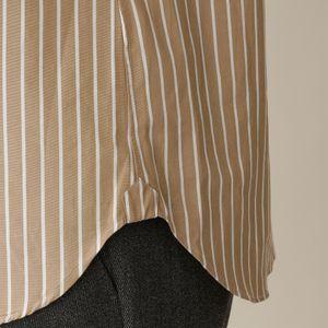 【数量限定】「COLLECTION LINE」コットンブロードドレスシャツ/ロングポイントレギュラーカラーストライプ