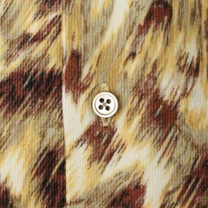 [ 26%OFF ] 【数量限定】「COLLECTION LINE」リバティーアニマルプリントコーデュロイシャツ(カジュアルシャツ)