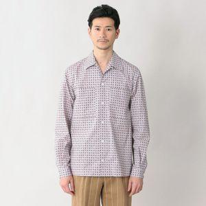 [ 33%OFF ] 【限定数量】「COLLECTION LINE」リバティープリントキャンプカラーシャツ