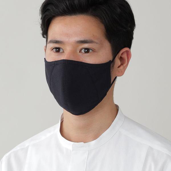 「MADE IN JAPAN」フィルターポケットオリジナルドレスマスク(プレジデントマスク)【ウォッシャブル】