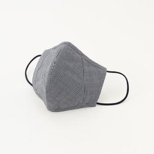 ◆◆「MADE IN JAPAN」フィルターポケットオリジナルドレスマスク(ハウンドトゥース)(プレジデントマスク)【ウォッシャブル】