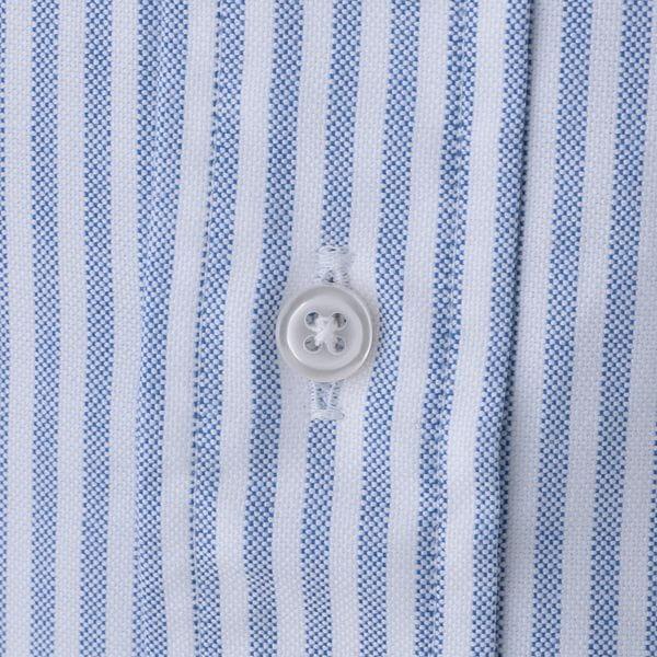 【青山本店/WEB限定】「MADE IN USA」キャンディストライプ柄オックスフォードシャツ(ビジネスカジュアル対応)