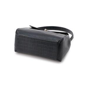 [ 20%OFF ] クロコ型押しハンドバッグ/セミショルダーバッグ