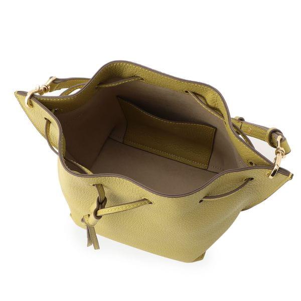 エアリーレザードローストリングバッグ
