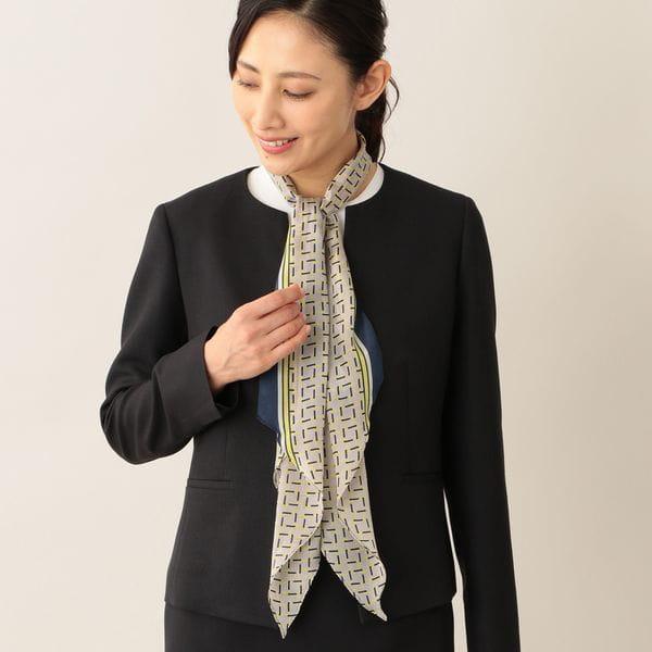 [ 33%OFF ] カッティングスクエアストール/スカーフ