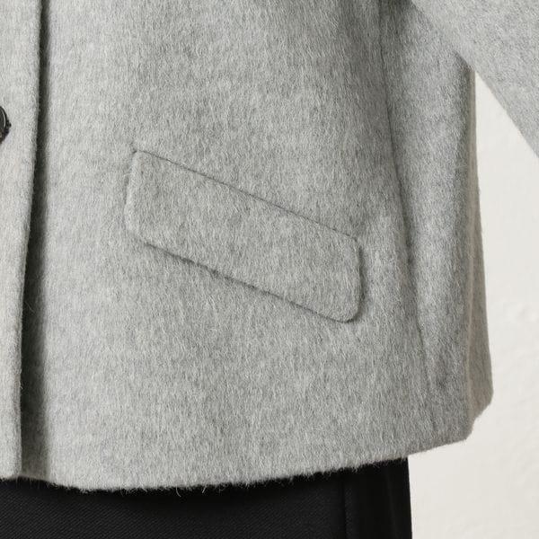 [ 37%OFF ] 【WEB限定】ウールモヘヤシャギーコート