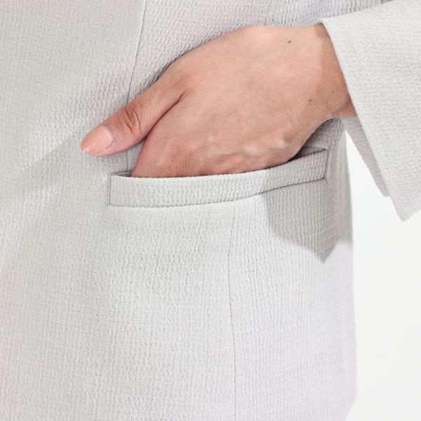ダブルクレープウールジャケット(セットアップ対応) 21FW