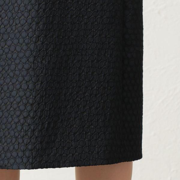 [ 44%OFF ] ランダムドットジャカードワンピース/ドレス(セットアップ対応)