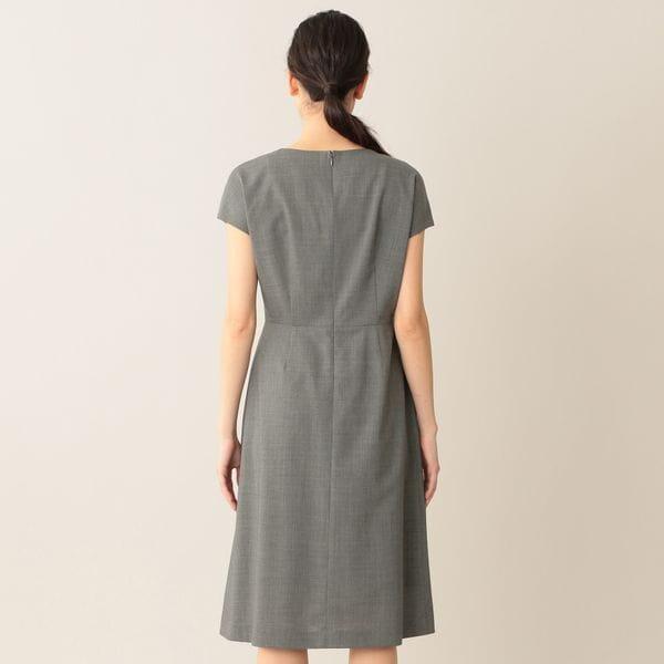 ウールトロワンピース/ドレス