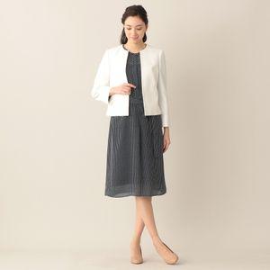 [ 27%OFF ] 【ウォッシャブル】クラッキングドットプリントワンピース