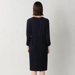 ウールレーヨングログランワンピース/ドレス(セットアップ対応)