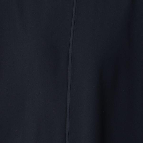 バックサテンジョーゼットブラウス【ウォッシャブル】(セットアップ対応)【日経Ai】