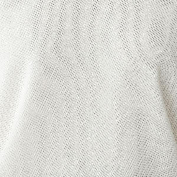 ◇◇ダイアゴナルホールガーメントニットプルオーバー/半袖【ウォッシャブル】