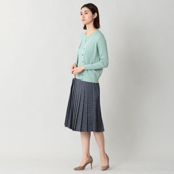[ 26%OFF ] シルクコットンニットカーディガン【ウォッシャブル】