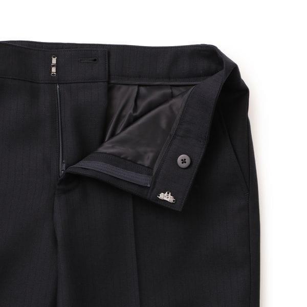 【ウォッシャブル】ファーストジャケット対応のパンツ ハウンドトゥースチェック