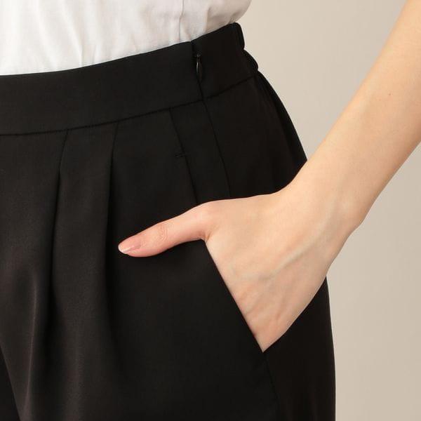 【ウォッシャブル】ラグジュアリーストレッチパンツ