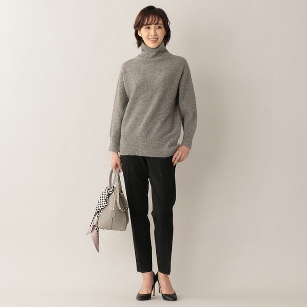 [ 21%OFF ] 【ウォッシャブル】ツイストダブルクロス パンツ