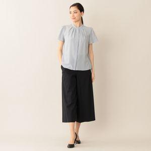 [ 38%OFF ] 【ウォッシャブル】ハイツイストコットンワイドパンツ/ズボン