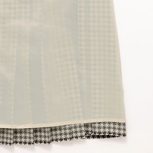 [ 20%OFF ] 【ウォッシャブル】ハウンドトゥースパターンプリントスカート