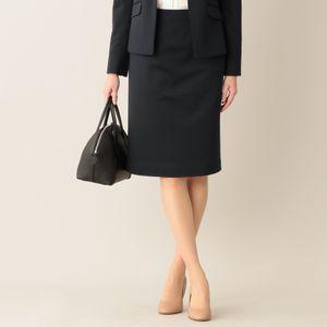 [ 48%OFF ] 【ウォッシャブル】ハイブリッドツイルジャージスカート(セットアップ対応)