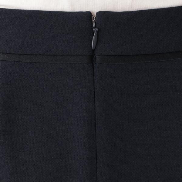 【ウォッシャブル】トリアセテートダブルクロス スカート