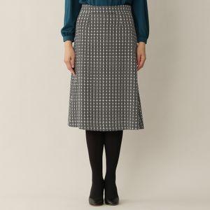 [ 22%OFF ] 【ウォッシャブル】リンクルクロスプリントスカート(セットアップ対応)