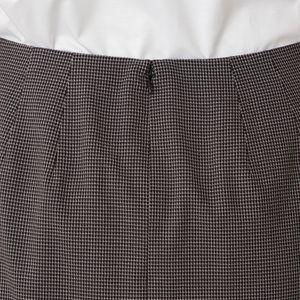 タイニーチェックストレッチスカート(セットアップ対応)