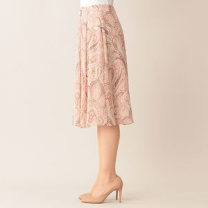 【ウォッシャブル】バティックプリント スカート