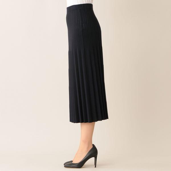 コンフォータブルレーヨンニットスカート(セットアップ対応)