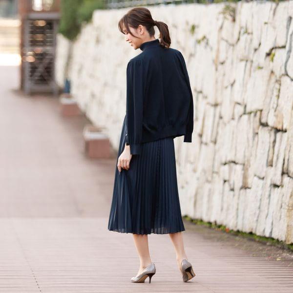 【ウォッシャブル】エアリーローン スカート
