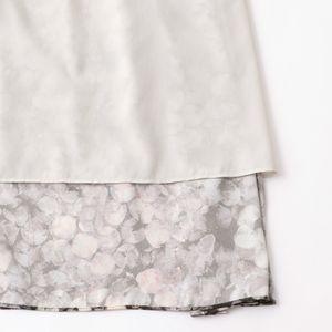 ◇◇ペタルプリントスカート【ウォッシャブル】