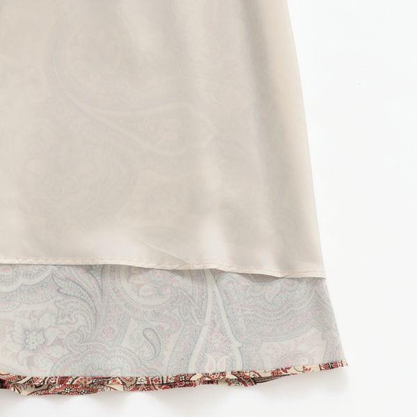 [ 17%OFF ] ペイズリープリントスカート(セットアップ対応)