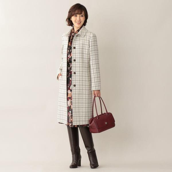 メイジーパターンプリントスカート【ウォッシャブル】(セットアップ対応)