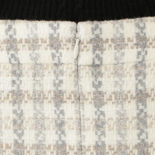 [ 25%OFF ] ミックスバスケットスカート(無地・チェック)