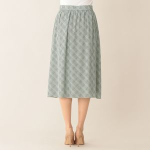 [ 28%OFF ] 【ウォッシャブル】トレリスプリントスカート