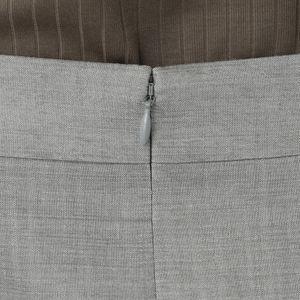 スラブシャンブレースカート【ウォッシャブル】(セットアップ対応)