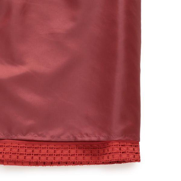 【eclat(エクラ)掲載】ミニブロックエンブロイダリースカート(セットアップ対応)