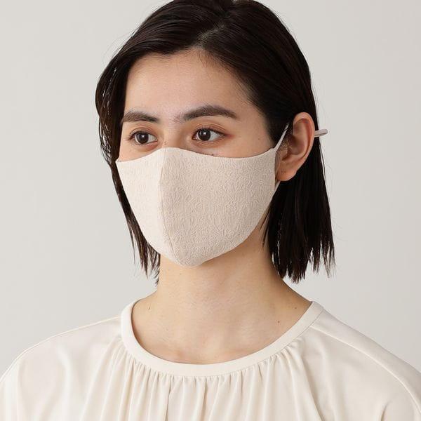 「MADE IN JAPAN」ファーストレディーマスク/アジャスター付き【UVカット】【ウォッシャブル】(ドレスマスク・レースマスク)